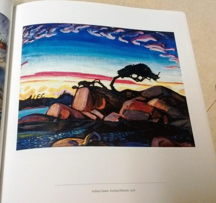 Arthur Lismer Evening Silhouette