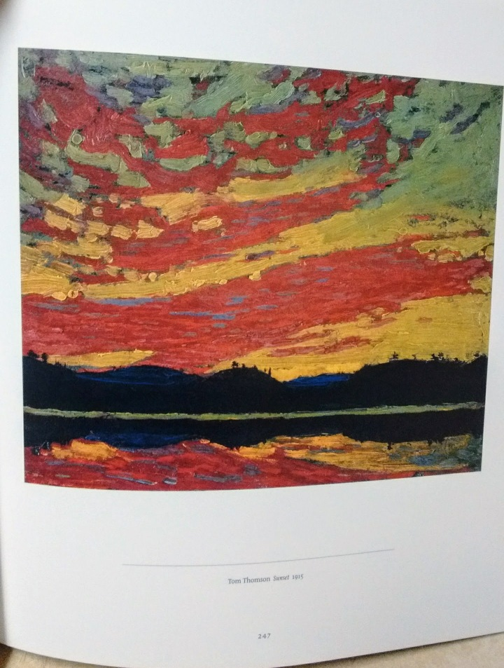Tom Thomson Sunset