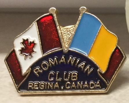 Romanian Club pin