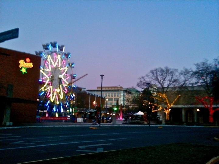 December 2013 - Victoria Ferris Wheel