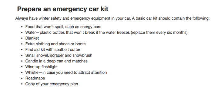 Screenshot - Emergency Car Kit