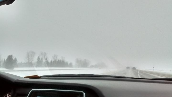 Snowy drive 2